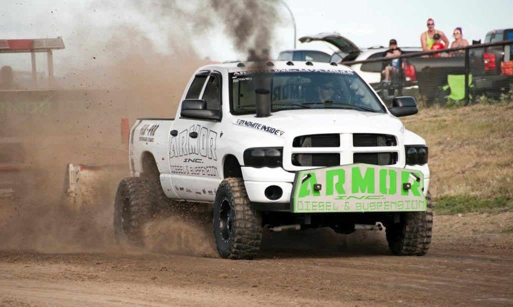 Sled Puller truck - competition trucks