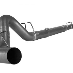 "2008-10 POWERSTROKE 4"" EXHAUST DOWN PIPE BACK NO MUFFLER"